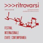 Festival Internazionale d'Arte Contemporanea >>>ritrovarsi. Sciacca, 22/24 Agosto.