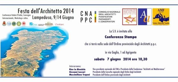 Invito Conferenza Stampa 7 giugno 2014