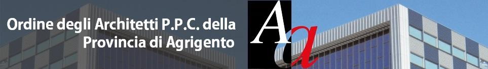 Ordine Architetti P.P.C. Agrigento